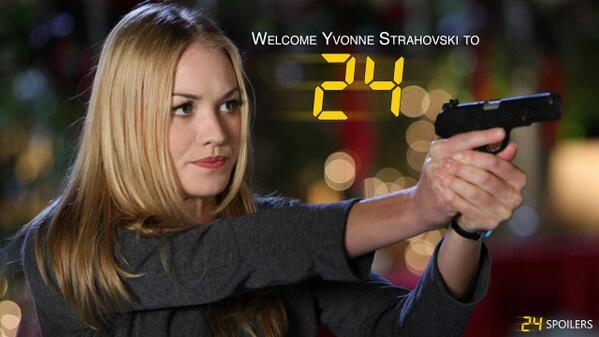 Welcome Yvonne Strahovski to #24LAD! @Y_Strahovski http://t.co/Rro8c33X2H