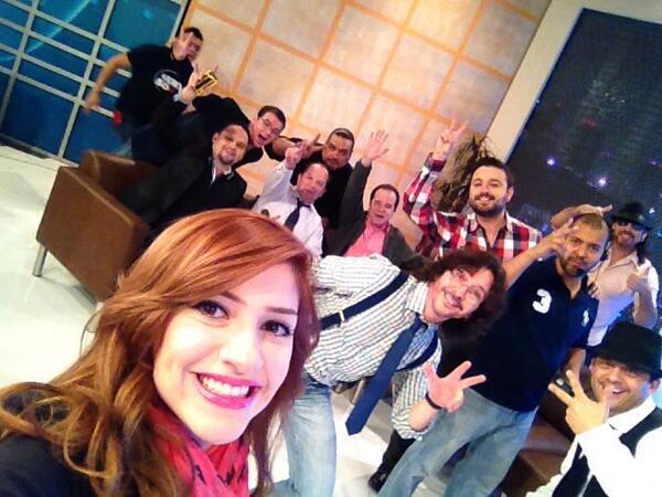 ingrid leija ♡ (@ingridleija): Felices por estar de nuevo juntos! #QueremosMas EN VIVO! Ponle a Televisa Mty http://t.co/nXY2u0UXIK