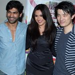 RT @itsBollywood: Pic: @mrinalinisharm with @MeiyangChang at Jatiswar film premiere http://t.co/71y8YgI6wY