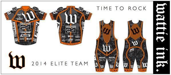 TIME TO ROCK! 2014 Wattie Ink. Elite Team Kits unveiled #rocktheW #timetorock #wattieink http://t.co/MeuxcBIots