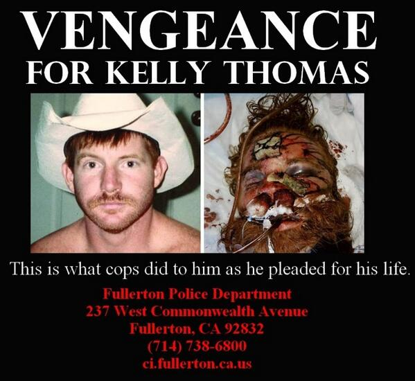 justice for Kelly Thomas http://t.co/x3CUnipR3L