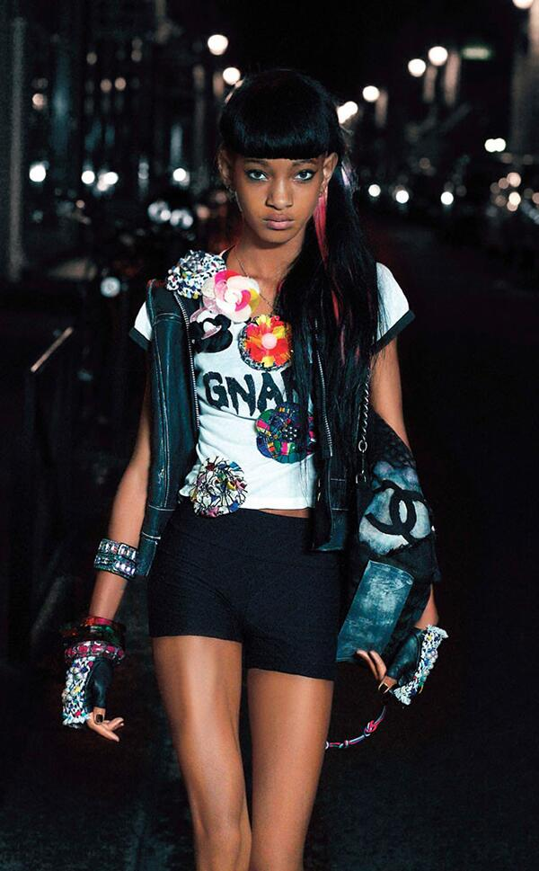 Model pls. RT @necolebitchie: Willow Smith Reveals Why She Turned Down 'Annie' In V Magazine  http://t.co/puNp051tEV http://t.co/hfbbvVb0Ld