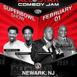 The Superbowl is coming to my town. It's only fitting my bring my show – Newark STAND UP!   http://t.co/PnyOBwygvv http://t.co/skTltIGCfJ