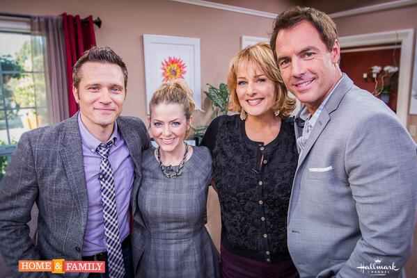 Big thx @CleverDever @seamusdever fr @Castle_ABC  4joining R @homeandfamilytv  such fun come back soon @MarkSteines http://t.co/FqKCt01CKy