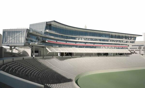 A view of what Nippert Stadium will look like in 2015. #BearcatPride http://t.co/SeJHI5OB4h