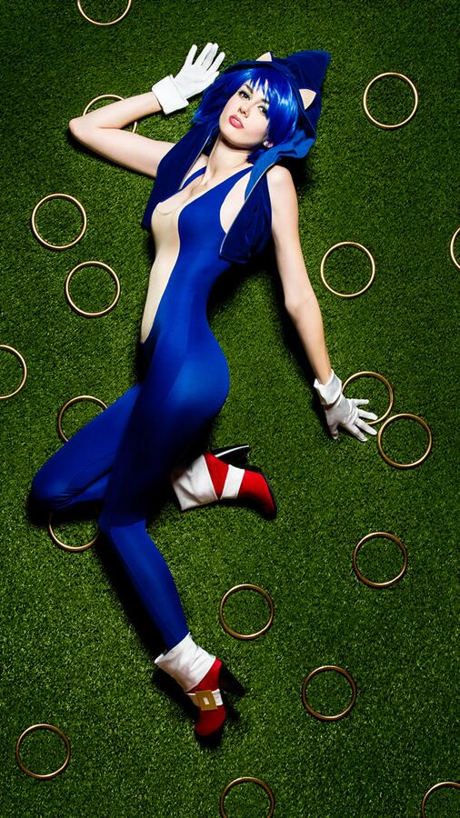Sonic est... sexy ! (*^3^*) http://t.co/hdMogygiLS