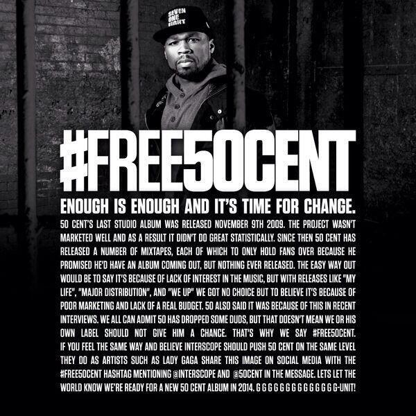 #FREE50Cent @Interscope @50cent http://t.co/lWqUFCFSQr