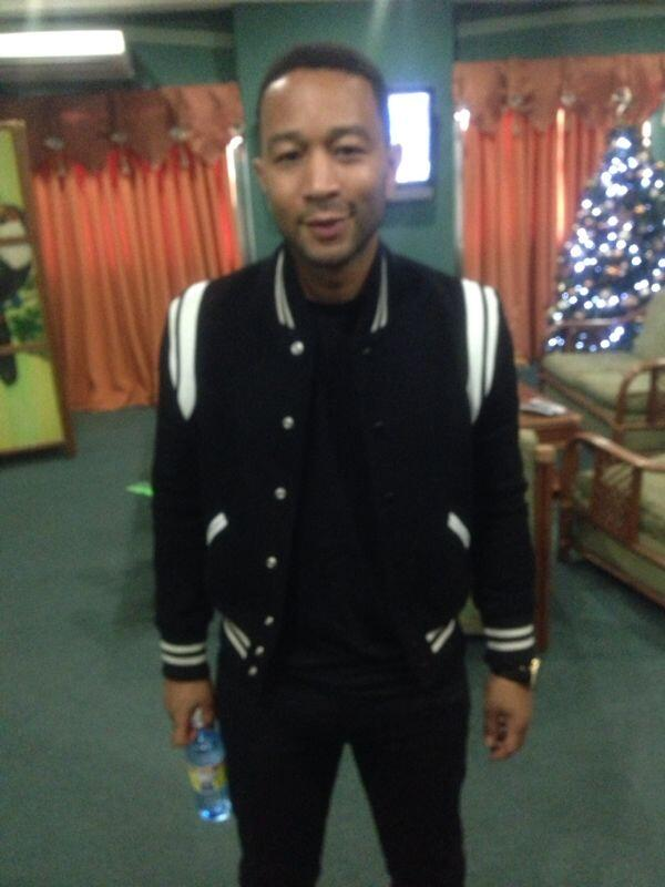 John Legend in Guyana for the Night of Love concert slated for January 04, 2014 at the Guyana National stadium. http://t.co/ZHnVu1iToK