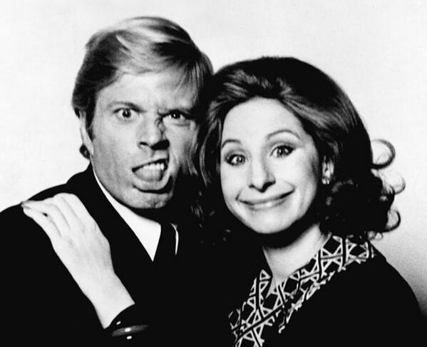 Robert Redford and Barbra Streisand. http://t.co/FWsNdskHYj