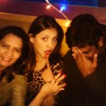 O my goshhhhhh! With @kuncheraghu  n Madhavi Seri http://t.co/Yv5G7M67ND