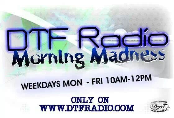 @MorningMadness is Back....Starting 1-13-14 from 10a-12p only on @DTFRADIO ! http://t.co/PdTbmWzrVP