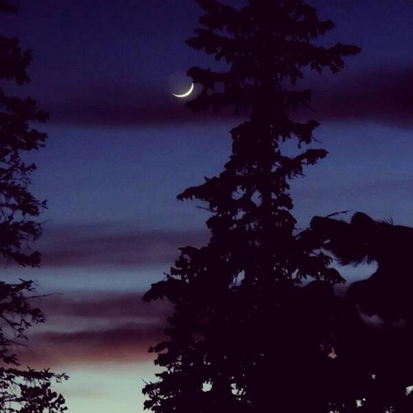 RT @Andgispert: La Luna ayer en Köln, Alemania http://t.co/bRRNXN8LC2