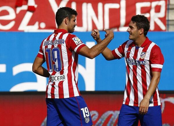 BdJh sjIQAAui0n Manchester United target Koke scores crucial winner for Atletico Madrid at Malaga [GIF & video]