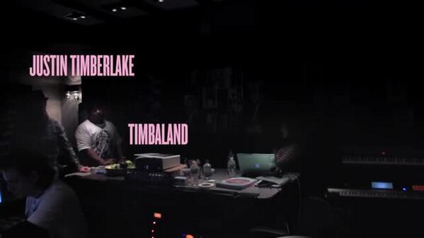 """Justin Timberlake en el estudio con Beyoncé: """"Rocket"""" http://t.co/3r47bUsofh http://t.co/Auw6zDZ1oc"""