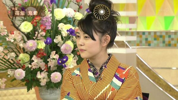 tweet  高畑充希さん、スタジオパークに出演ツイート・歌のシーンはあと2回【ごちそうさん・希子】 , NAVER まとめ