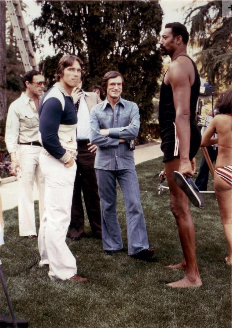 Hef, Arnie, and Wilt http://t.co/K47TnuxKLx