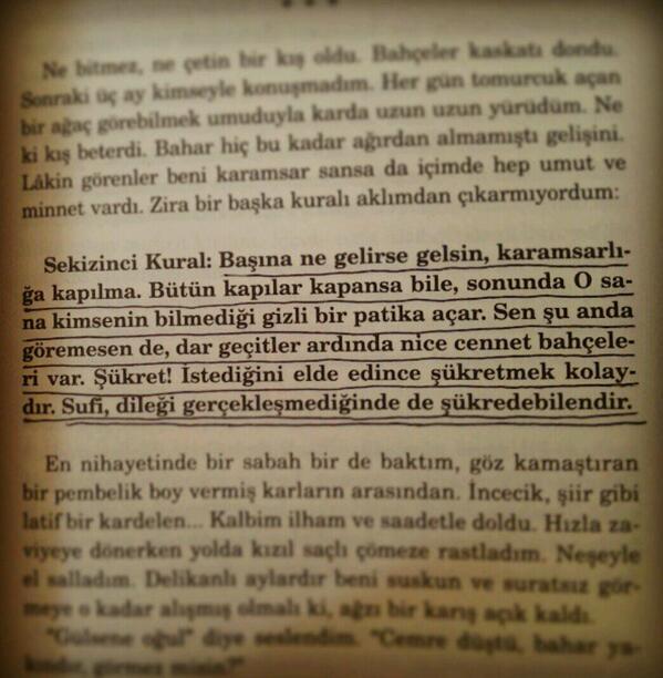 Radyocu Karakız  (@RadyocuKarakz): Bütün kapılar kapansa bile, sonunda o sana kimsenin bilmediği gizli patikalar açar şükret ;) http://t.co/c6vvH4O8Kq