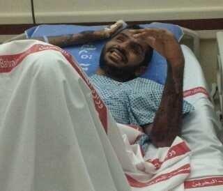 رغم فقده لبصره وعدم استطاعته للحركه بشكلاً منفرد تم صباح اليوم نقل المعتقل جعفر علي معتوق من المستشفى !!  #bahrain http://t.co/MsJwrUK29V