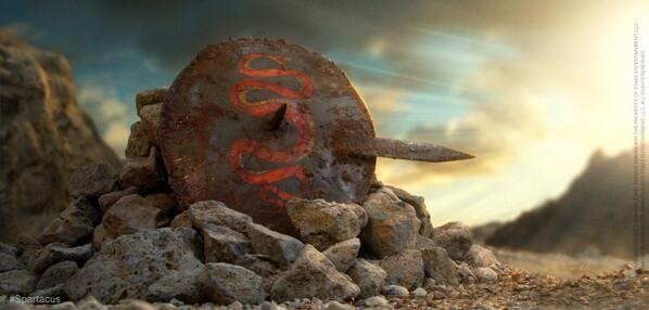 """One day Rome shall fade and crumble, yet you shall always be remembered."" – Agron. #Spartacus http://t.co/Ql6oMmINPR"