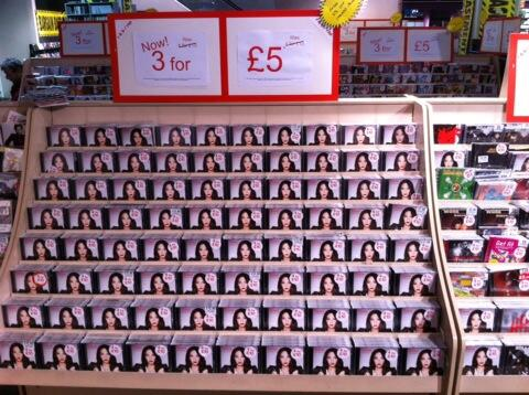 You've not seen London till you've seen HMV's Tulisa wall. Pictures don't do it justice http://t.co/uaD5COEGOP