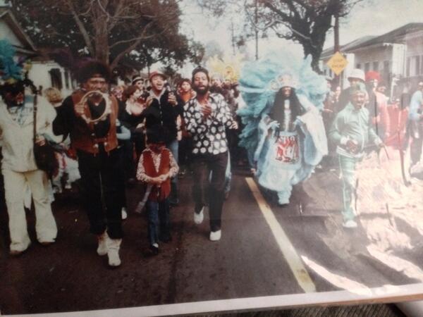 Mardi gras 1978 big chief Jolly wild tchoupatoulas http://t.co/x3kmiXON1W