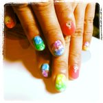 Image of nailart from Twitter