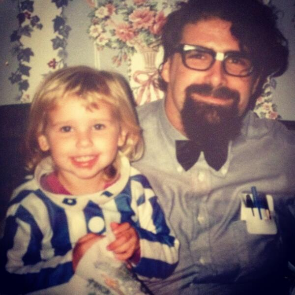 mick foley his daughter noelle when she was a little girl