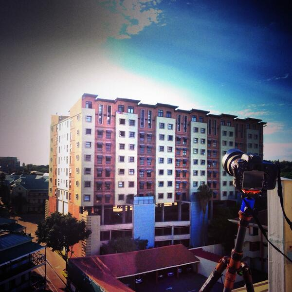 Shooting time-lapses for an architecture client with my @Nikon_SA D610 @PietmanLategan http://t.co/kDJR3ciRBW