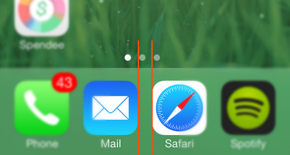 Now you'll never be able to look at your home screen without noticing it (sorry) – http://t.co/pMZ17NGIdO