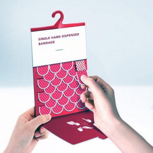 Embalagem funcional de Band-Aid http://t.co/wQriBvHays