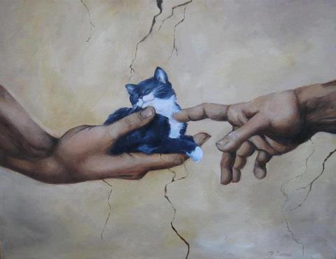 What Michelangelo meant to paint: http://t.co/QAT023Ernq