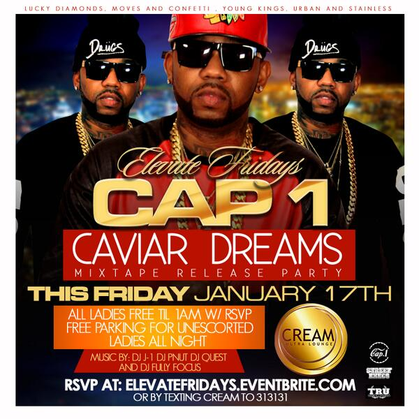 http://t.co/UpWZERSn0a > Text CREAM to 313131 for @RICHIECAP1 mixtape release this Friday @CreamLoungeatl @mikeupscale