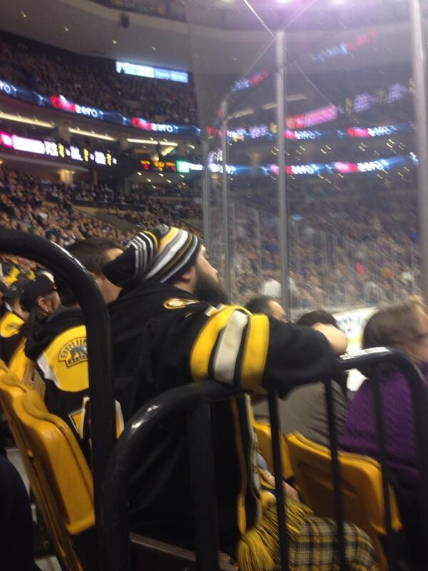 Here's the guy who chirped jake gardiner just before he scored. Quiet after that.  #tmltalk http://t.co/kA9b9MWujg