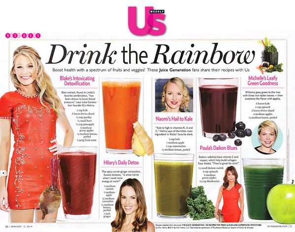 We've got a juice with your name on it. (cc @USWeekly) http://t.co/QrKXUvbK4c