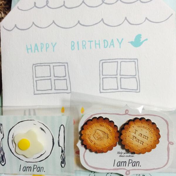 ぎゃばいい…!!ピアスを買ったのですが素敵なプレゼントまでいただきやした〜わーいわーい!もう、素敵姉妹大好きです!メッセージカードまでー!あかねさん、ケイコさん、ありがとうございます! http://t.co/sLfZm21Eer http://t.co/cZR5LCvyN8