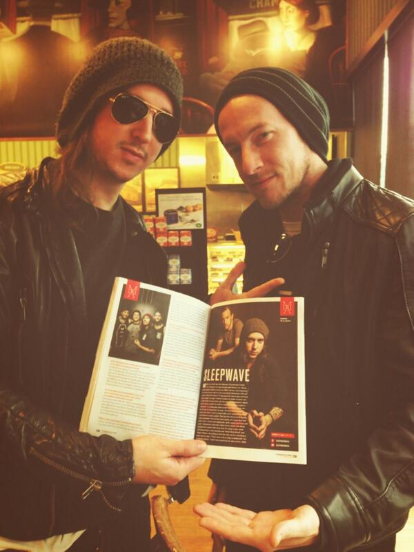 RT @wschamberlain: Yo we are in the new @AltPress  Go pick up a copy my boy @AdamDamnLazzara is on the cover http://t.co/Gaelf1Nfct