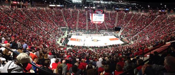 San Diego State Aztecs Mens Basketball vs Boise State Broncos Mens Basketball - Viejas Arena ...
