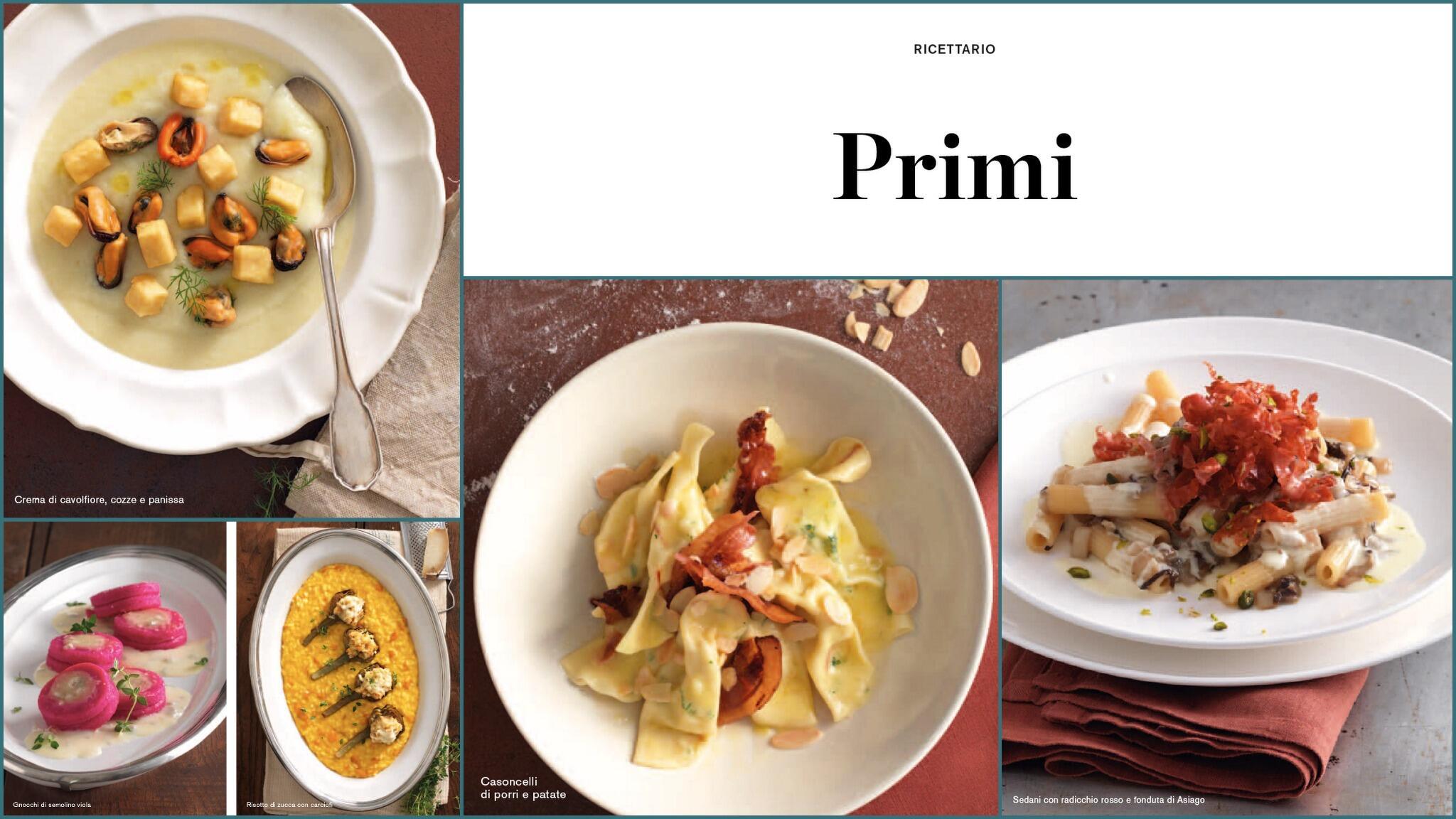 Vi viene fame così??  In #pausapranzo.... tutti #inedicola!  #eadessosfogliala #gennaio #primipiatti #lci http://t.co/7KleknG6kW