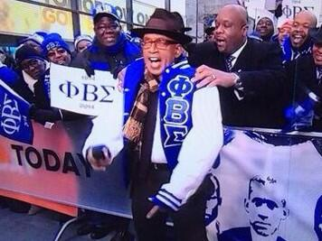 @sherylunderwood RT alroker: Wearing the Blue and White of #PhiBetaSigma Got me a new jacket. Sweet SWAG!!! http://t.co/8tngp8Z2Ey