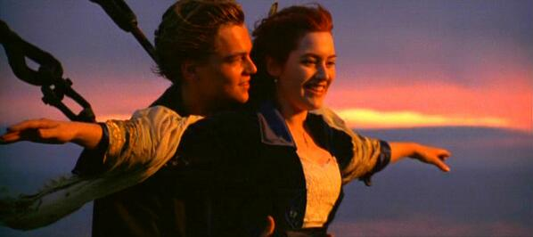 ROSE: I'm flying, Jack! ♫ JACK: Come, Josephine, in my flying machine, going up, she goes up, up she goes ♫ #Titanic http://t.co/19JKdqxyIX