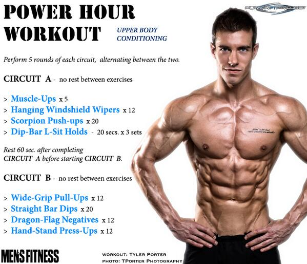 RT @humanfitproject: Here's this wks #PowerHour #workout feat Tyler Porter.@MensFitness @Mike_Simone_  @RRP_HFP Photo: TPorterPhotography http://t.co/vdXfnBysHH