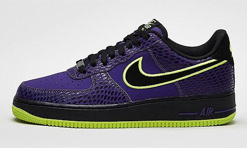 Air Force One Purple snake-print #sneakers http://t.co/1gQ2o4AW0I