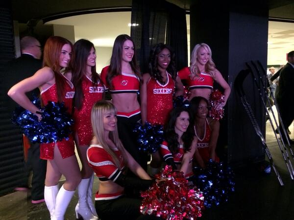 YOUR Devils Dancers and Sixers Dancers http://t.co/VWfLpwudF6