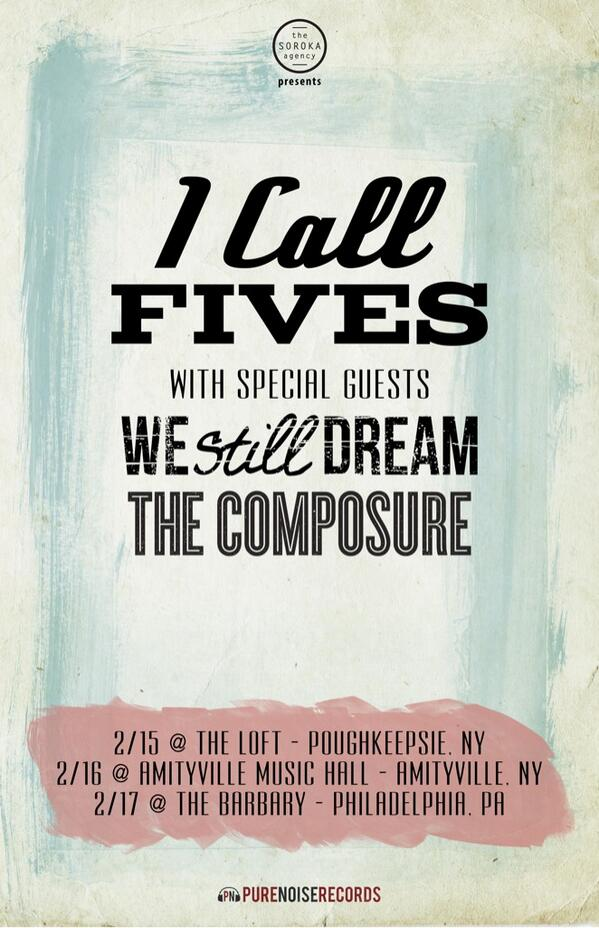 Have ya heard!? Next month were doing some dates with these handsome fellas @icallfives @westilldream http://t.co/ev8pOpuGPp