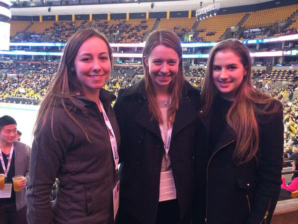 Watching #Boston2014 with @kimmiemeissner and @katrinahacker feels like only yesterday we were competing http://t.co/5zxqto8pUD