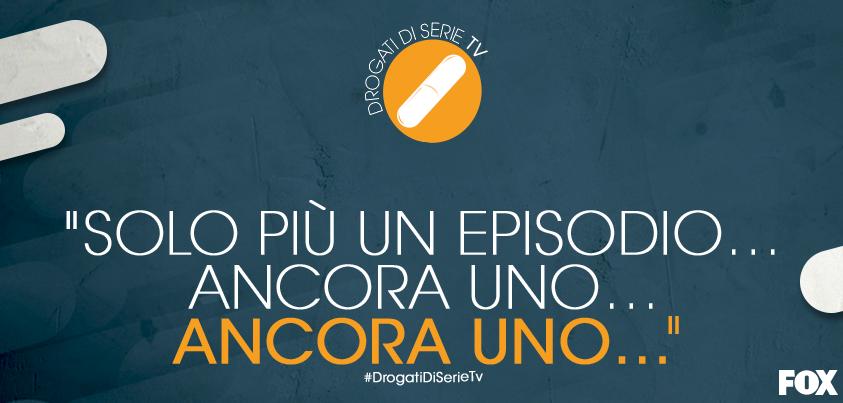 Quante volte vi è capitato e per quale serie? #DrogatidiSerieTv http://t.co/eM5qs5jnpk