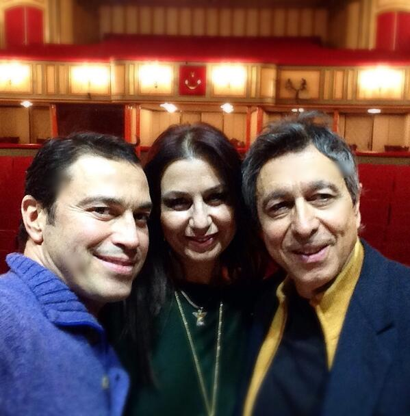 Mario Frangoulis (@MarioFrangoulis): Geting ready for the concert tomorrow with soprano Feryal Turkoglu and my friend maestro Lukas Karytinos! http://t.co/t8mhmBWdSn