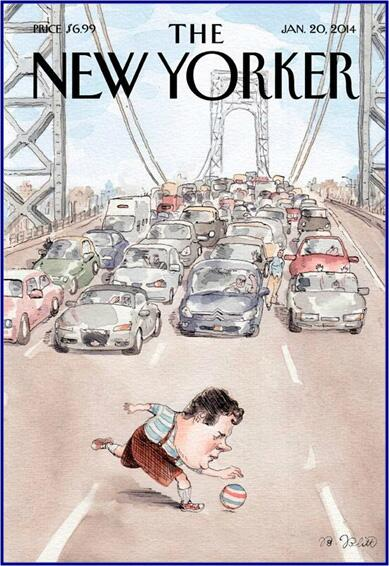 [#Christie -mas: The gift that keeps on giving] Next week's @NewYorker has the NJ Governor's latest [traffic] jam - http://t.co/PFJ9DeZujM