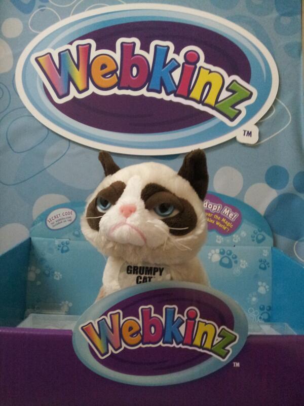 #BreakingNews: #Webkinz World will be welcoming a special new pet next month! (#SpoilerAlert: It's @RealGrumpyCat) http://t.co/VdxvZTlhaj