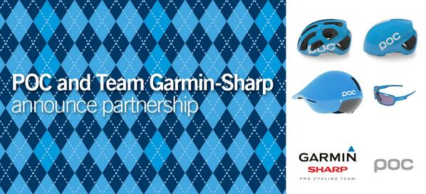 We proudly announce a partnership with Team Garmin-Sharp pro cycling team @Ride_Argyle More: http://t.co/aiXQSPu1xo http://t.co/MlDlfvBut7